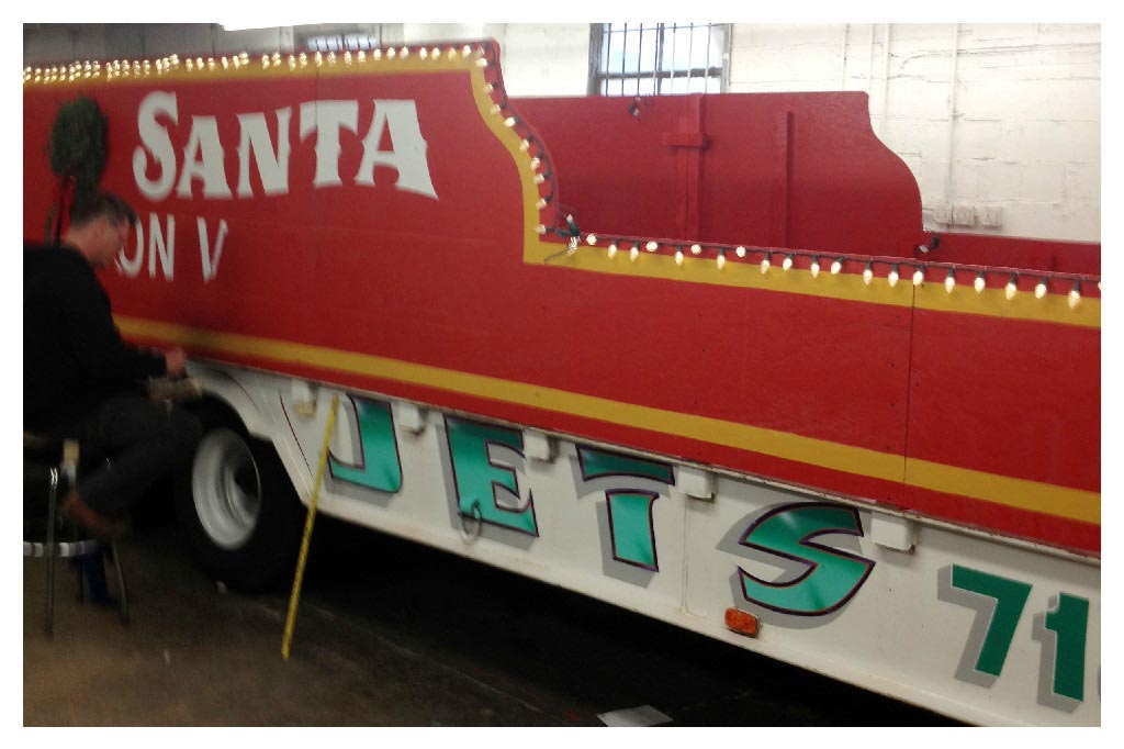 Jets towing community events