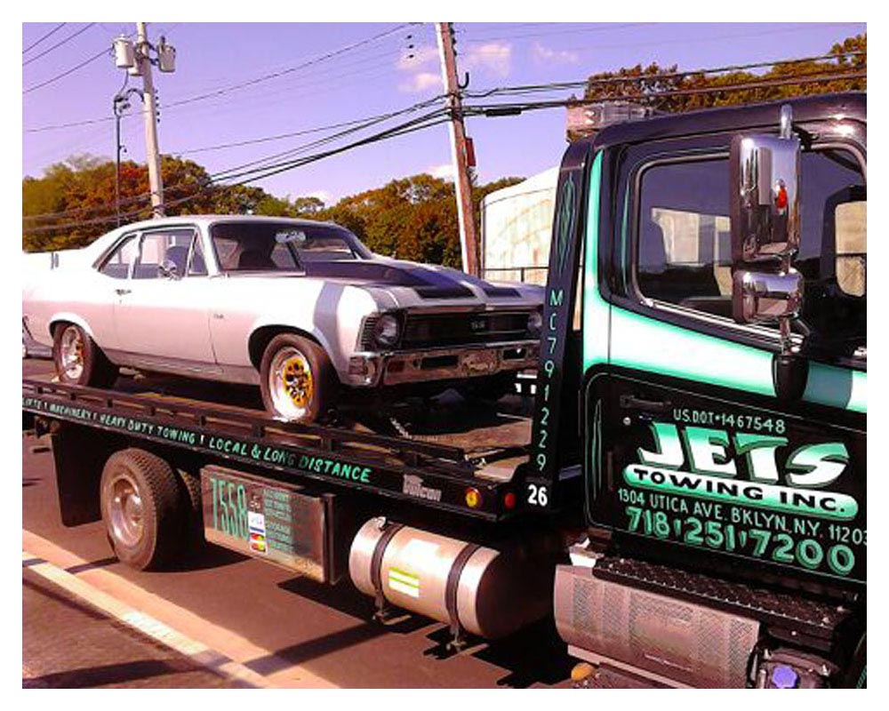 machine transport services nyc