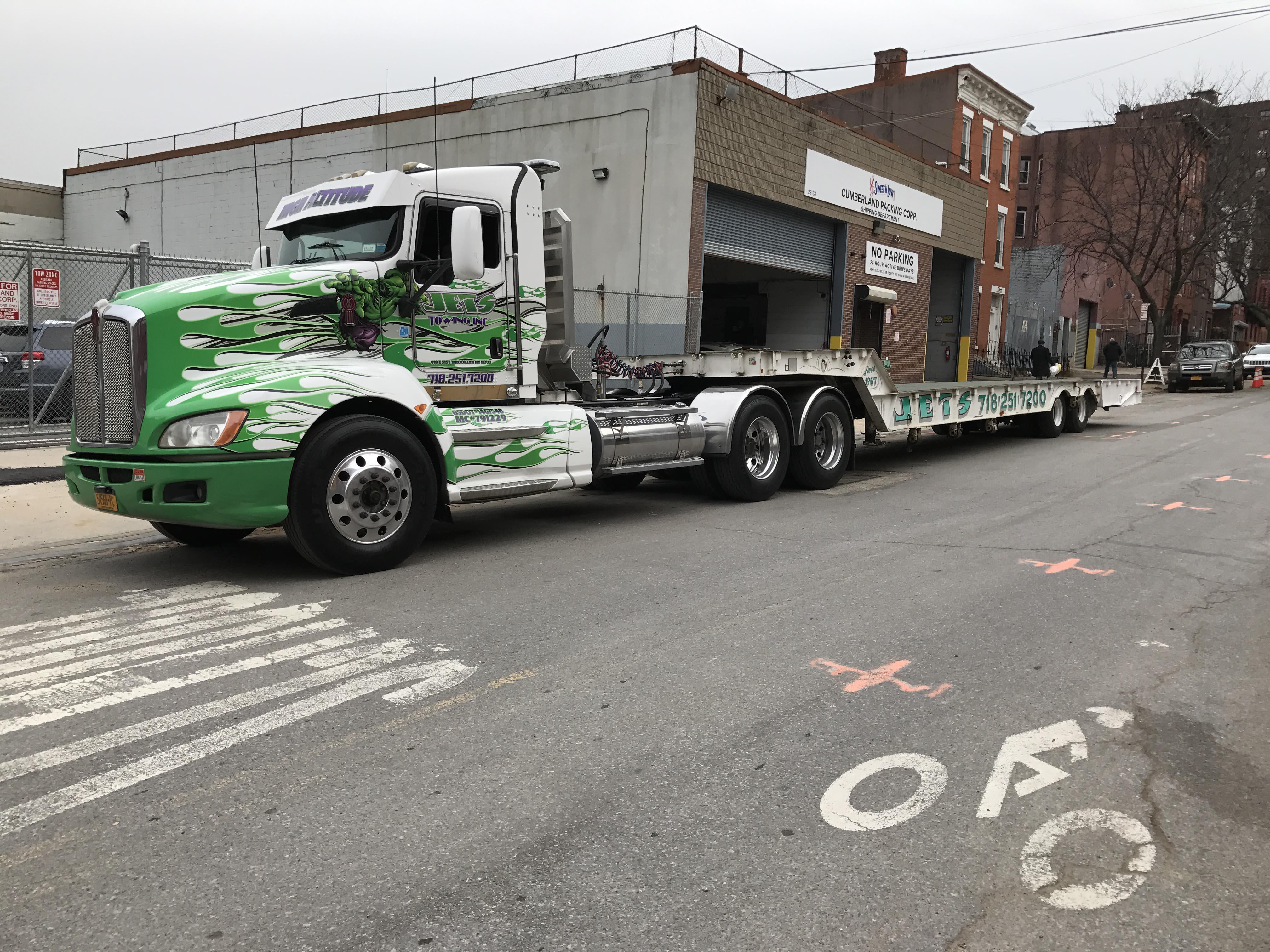 Low Boy Truck Capability NY