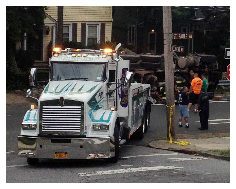 Medium duty towing services NY