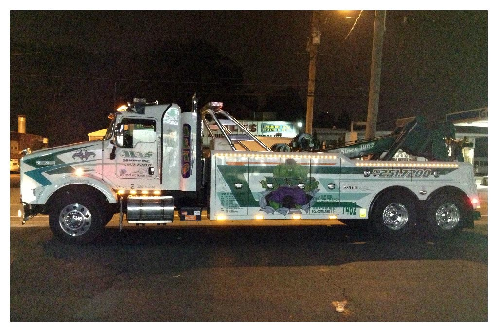 Towing and accident recovery service